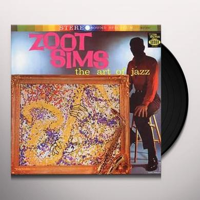 Zoot Sims ART OF JAZZ Vinyl Record