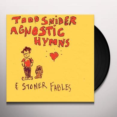 Todd Snider AGNOSTIC HYMNS & STONER FABLES Vinyl Record