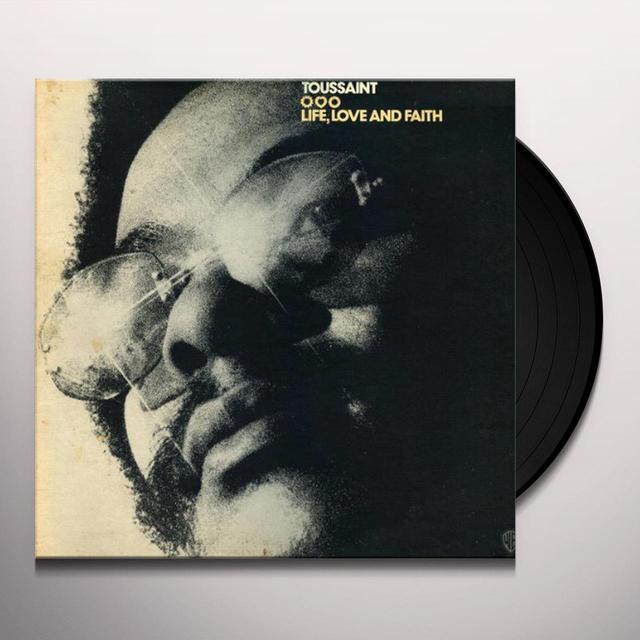 Allen Toussaint LIFE LOVE & FAITH Vinyl Record