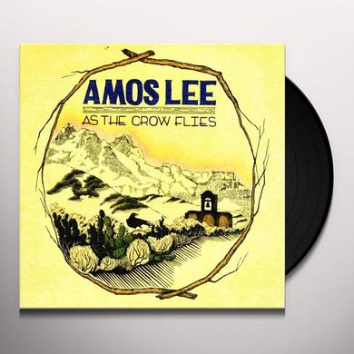 Amos Lee AS THE CROW FLIES Vinyl Record