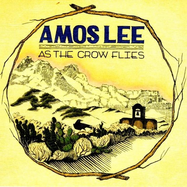 Amos Lee AS THE CROW FLIES Vinyl Record - Digital Download Included