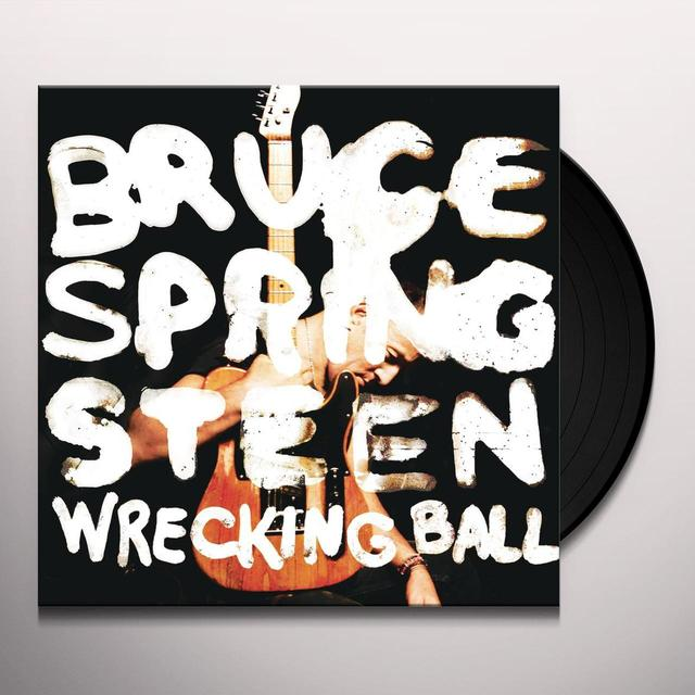 Bruce Springsteen WRECKING BALL (DLI) Vinyl Record