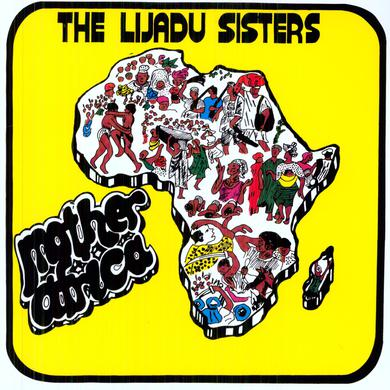 Lijadu Sisters MOTHER AFRICA Vinyl Record