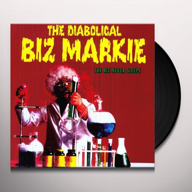 Biz Markie BIZ NEVER SLEEPS Vinyl Record