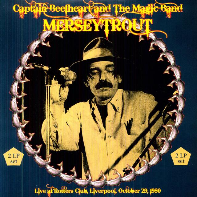 Captain Beefheart MERSEYTROUT Vinyl Record - Limited Edition