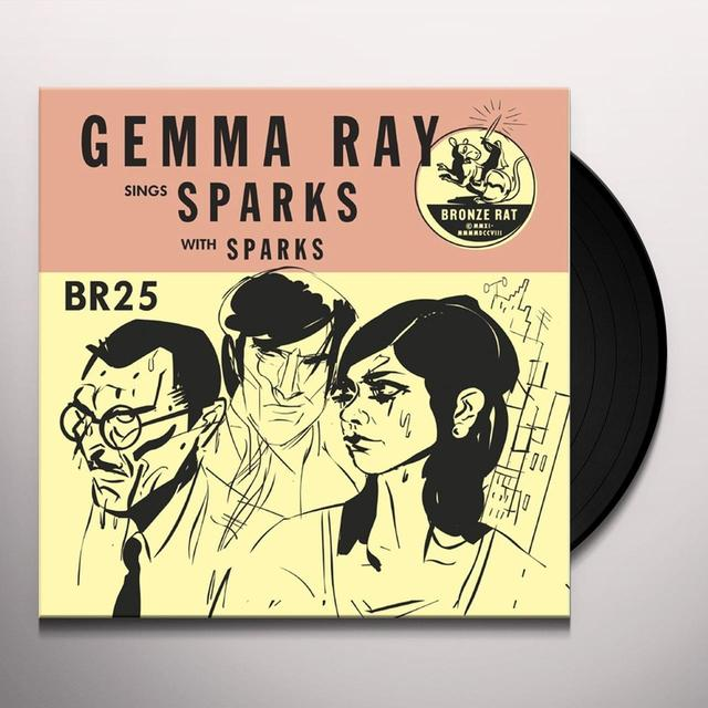 GEMMA RAY SINGS SPARKS Vinyl Record