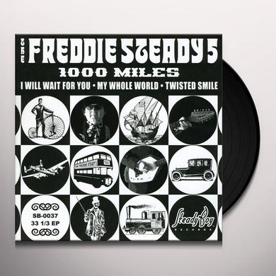 Freddie Steady 5 1000 MILES Vinyl Record