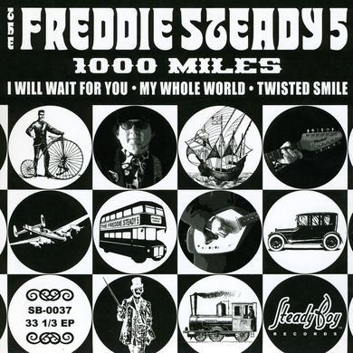Freddie Steady 5 1000 MILES Vinyl Record
