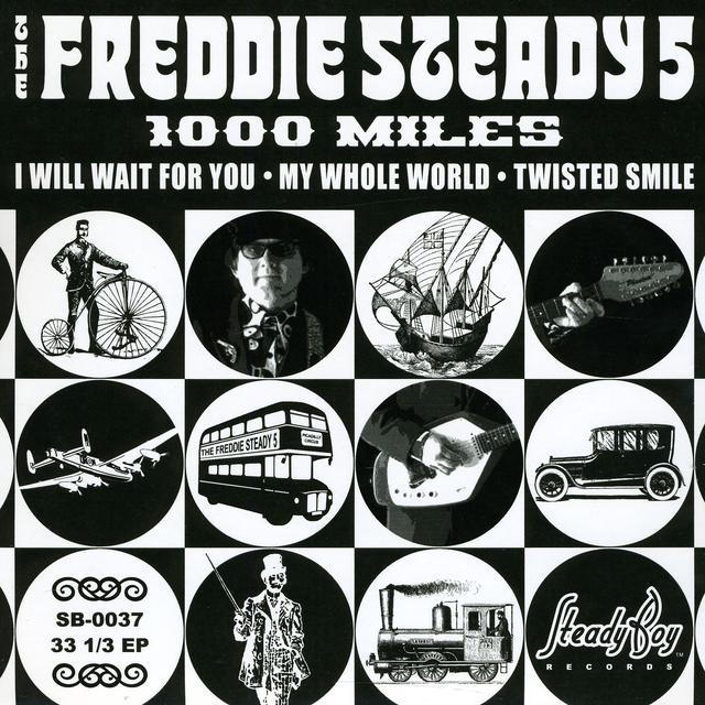 Freddie Steady 5 1000 MILES (EP) Vinyl Record