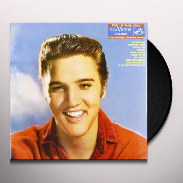 Elvis Presley FOR LP FANS ONLY Vinyl Record