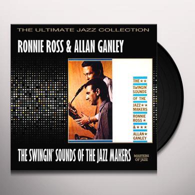 Ronnie Ross / Allan Ganley JAZZ MAKERS Vinyl Record