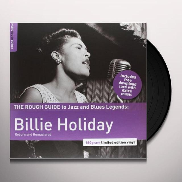ROUGH GUIDE: BILLIE HOLIDAY (BONUS CD) Vinyl Record - 180 Gram Pressing