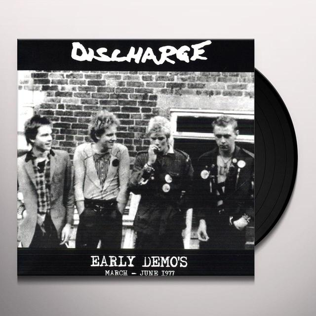 Discharge EARLY DEMO'S MARCH JUNE 1977 Vinyl Record