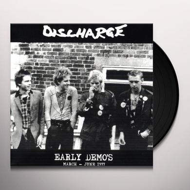 Discharge EARLY DEMO'S MARCH JUNE 1977 Vinyl Record - Limited Edition
