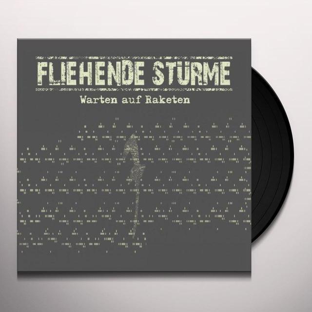 Fliehende Sturme WARTEN AUF RAKETEN Vinyl Record