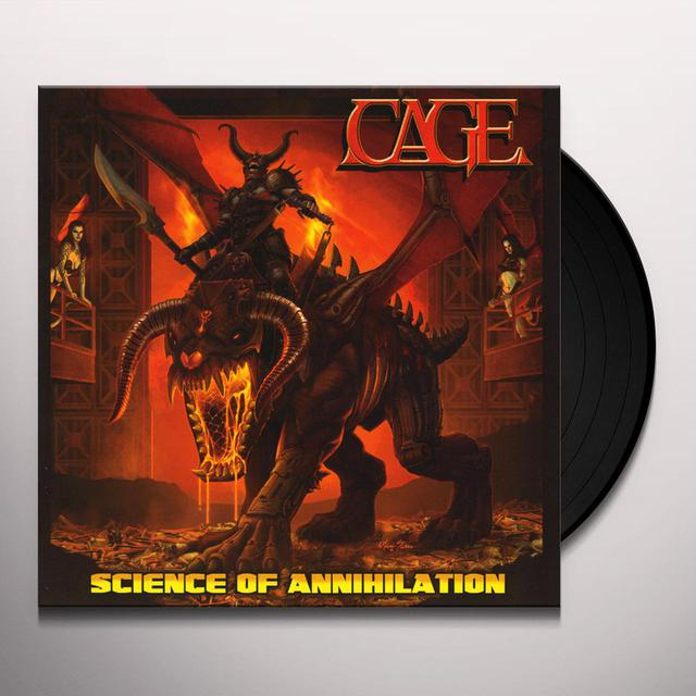 Cage SCIENCE OF ANNIHILATION Vinyl Record