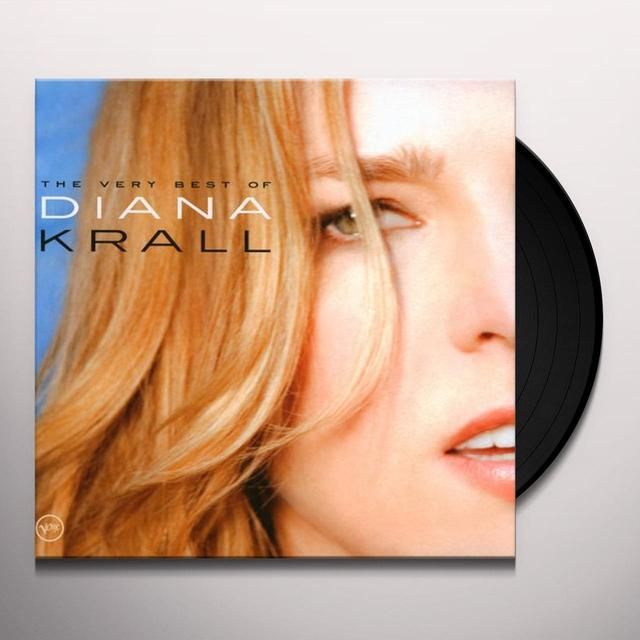 Diana Krall VERY BEST OF Vinyl Record