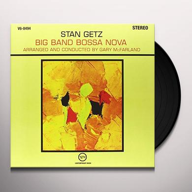 Stan Getz / Gary Mcfarland BIG BAND BOSSA NOVA Vinyl Record