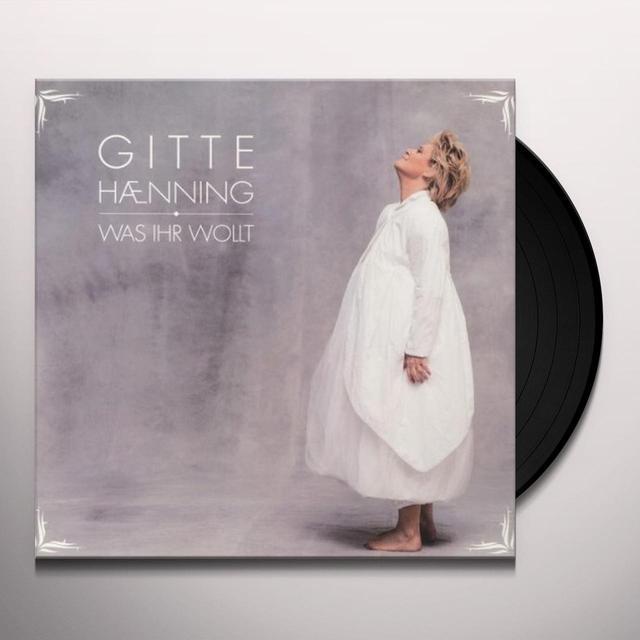 Gitte Haenning WAS IHR WOLLT Vinyl Record