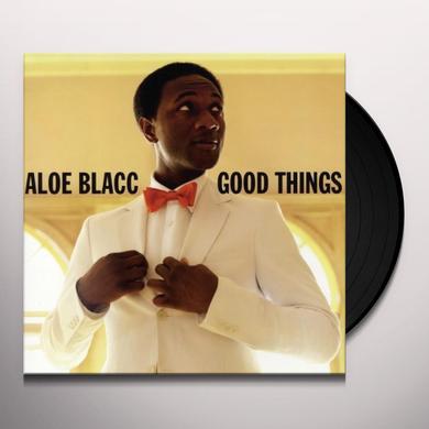 Aloe Blacc GOOD THINGS Vinyl Record