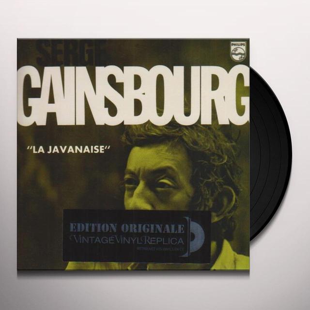 Serge Gainsbourg LA JAVANAISE Vinyl Record