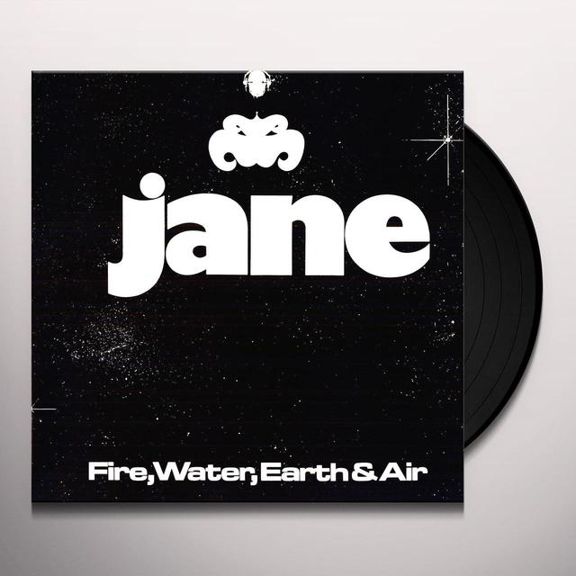 Jane FIRE WATER EARTH & AIR Vinyl Record