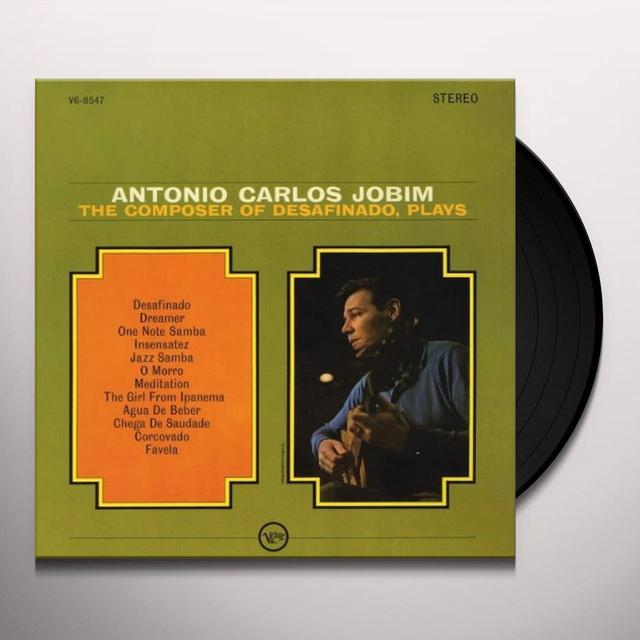 Antonio Carlos Jobim COMPOSER PLAYS Vinyl Record