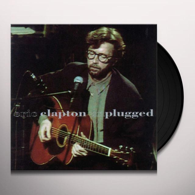 Eric Clapton UNPLUGGED Vinyl Record