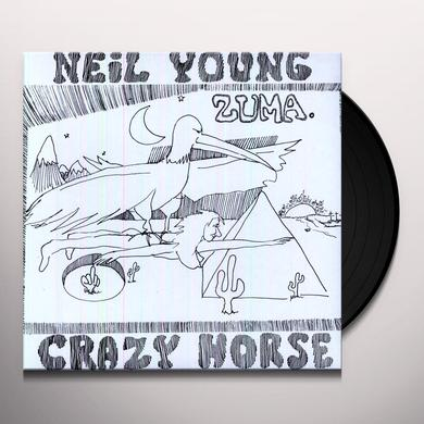 Neil Young ZUMA Vinyl Record