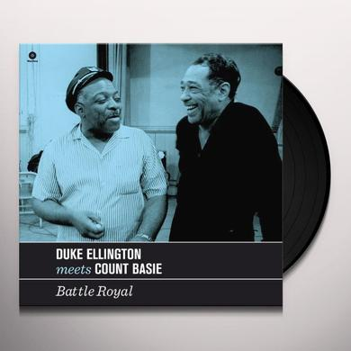 Duke Ellington / Count Basie BATTLE ROYAL (BONUS TRACKS) Vinyl Record - 180 Gram Pressing