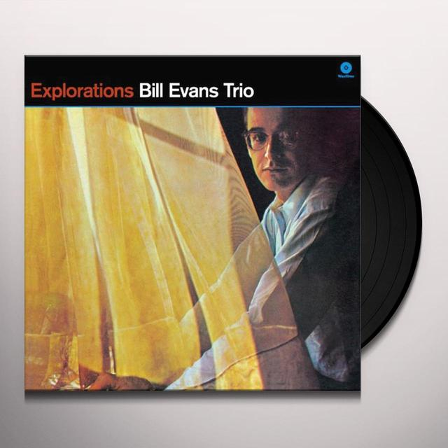 Bill Evans EXPLORATIONS (BONUS TRACK) Vinyl Record - 180 Gram Pressing