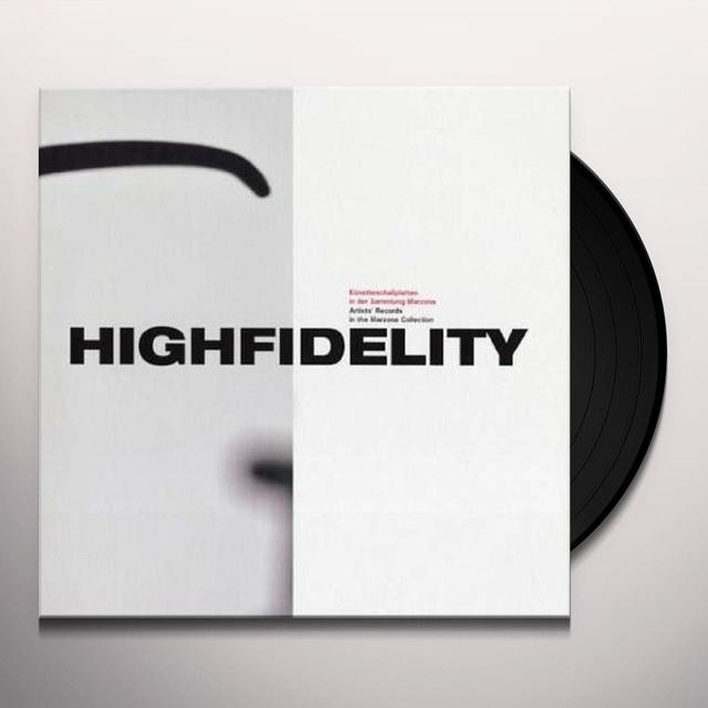 John Cage & Terry Fox HIGHFIDELITY Vinyl Record