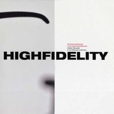 John Cage & Terry Fox HIGHFIDELITY Vinyl Record