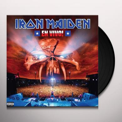 Iron Maiden EN VIVO Vinyl Record