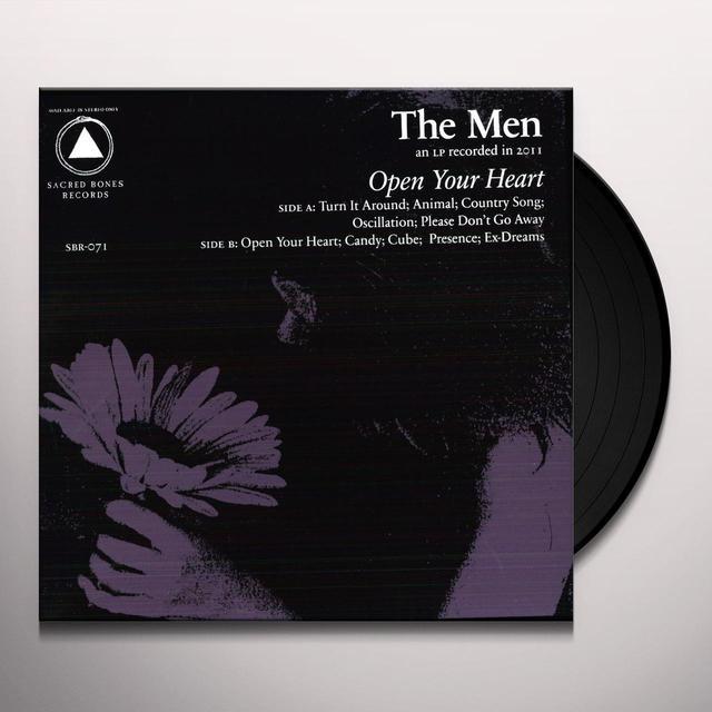 Men OPEN YOUR HEART Vinyl Record