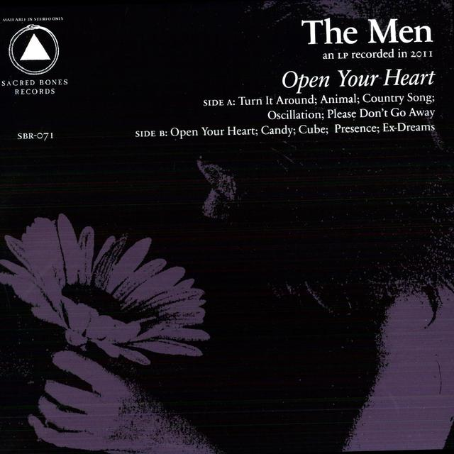 Men OPEN YOUR HEART Vinyl Record