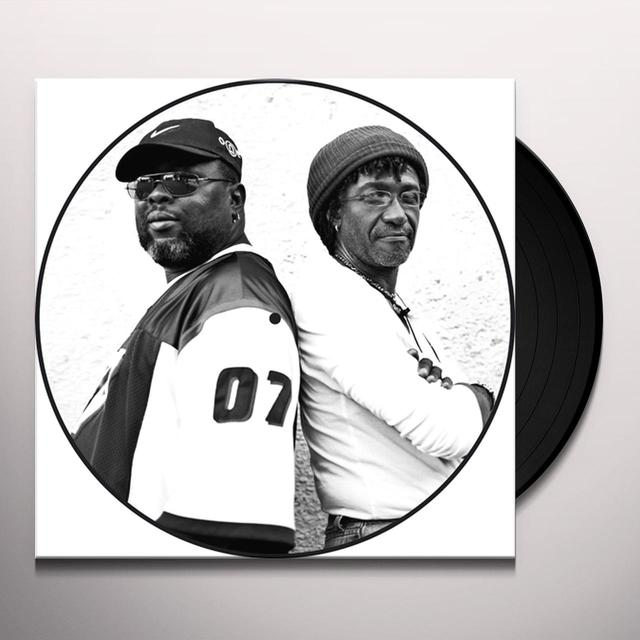 Sly & Robbie BLACKWOOD DUB Vinyl Record - Limited Edition, Picture Disc