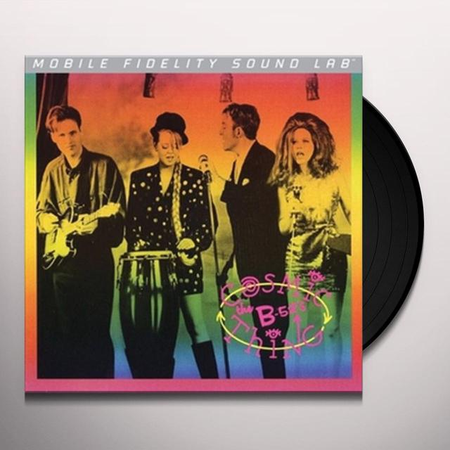 B-52's COSMIC THING Vinyl Record - Limited Edition