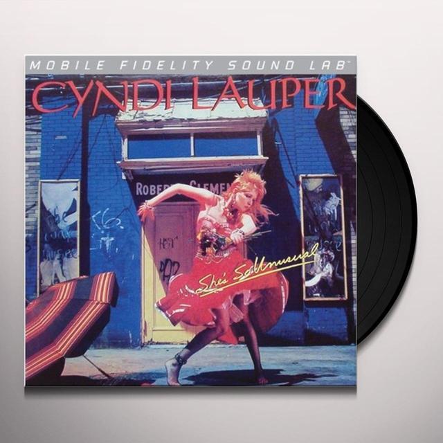 Cyndi Lauper SHE'S SO UNUSUAL Vinyl Record - Limited Edition