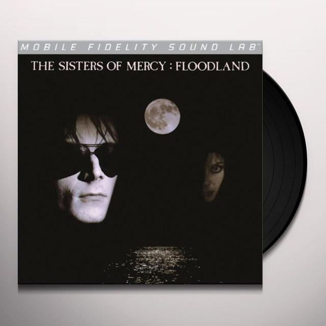 Sisters Of Mercy FLOODLAND (BONUS TRACKS) Vinyl Record - Limited Edition