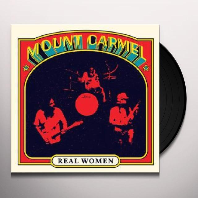 Mount Carmel REAL WOMEN Vinyl Record