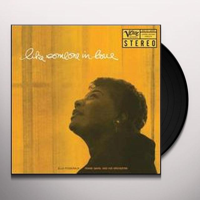 Ella Fitzgerald LIKE SOMEONE IN LOVE Vinyl Record - 200 Gram Edition