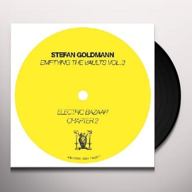 Stefan Goldmann EMPTYING THE VAULTS 3 Vinyl Record