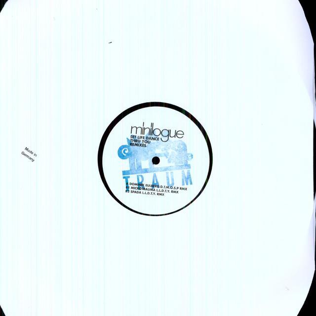 Minilogue LET LIFE DANCE THRU YOU REMIXES Vinyl Record