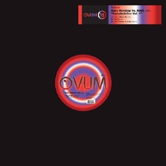 Marc Romboy / Kink SAMPLEDELICS 1 (EP) Vinyl Record