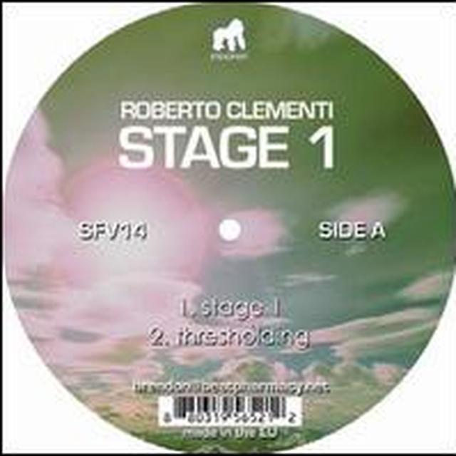 Roberto Clementi STAGE 1 Vinyl Record
