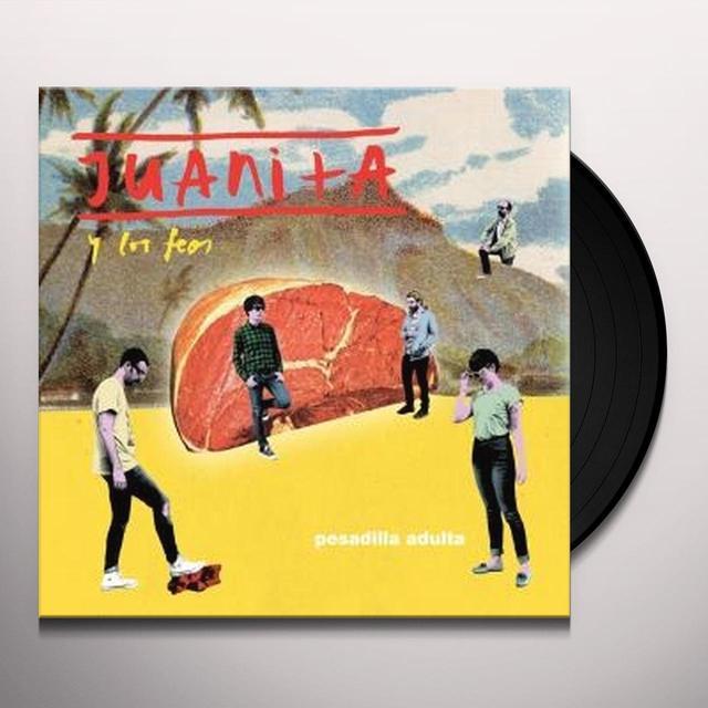 Juanita Y Feos PESADILLA ADULTA Vinyl Record - w/CD