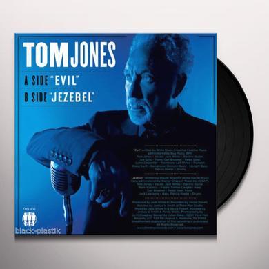 Tom Jones EVIL / JEZEBEL Vinyl Record