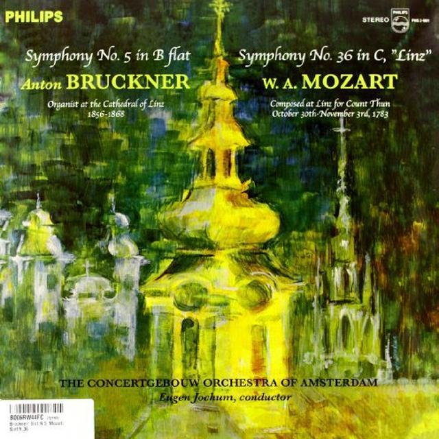 Eugen / Concertgebouw Of Amsterdam Jochum BRUCKNER: SYMPHONY 5 / MOZART: SYMPHONY 36 Vinyl Record - 180 Gram Pressing
