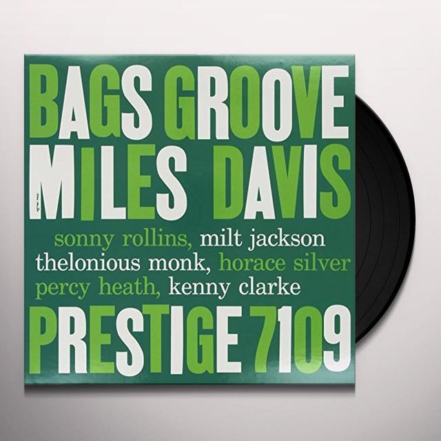 Miles Davis BAGS GROOVE Vinyl Record - 200 Gram Edition